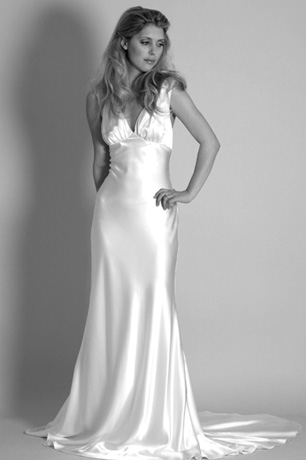1930s vintage wedding dress Vivienne - Hollywood style