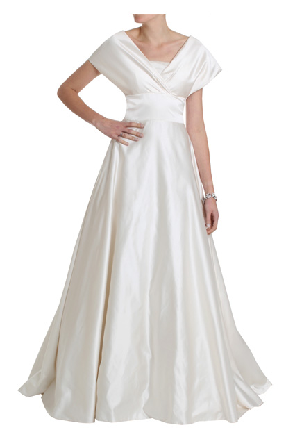 Grace Kelly style 1950s Wedding Dress