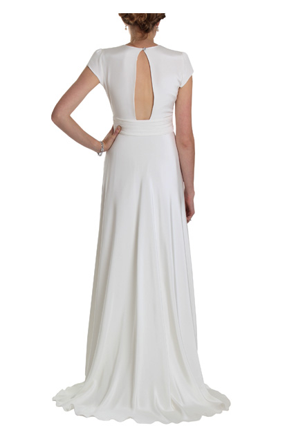 1940s style vintage inspired Wedding Dress
