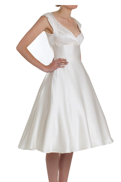 Martha 1950s vintage inspired Wedding Dress