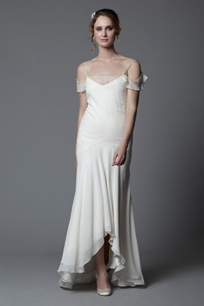 Gatsby - 1920s Style Vintage Lace Wedding Dress