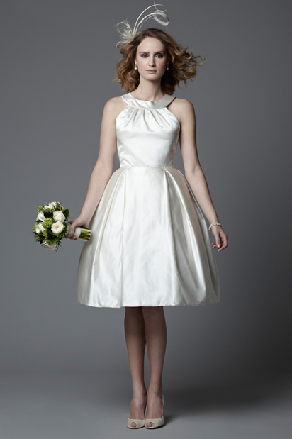 1950s short vintage wedding dress Rosie