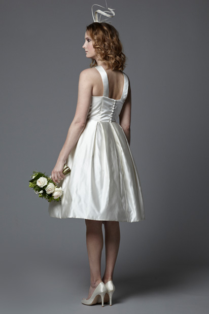 fifties vintage style wedding dress Rosie