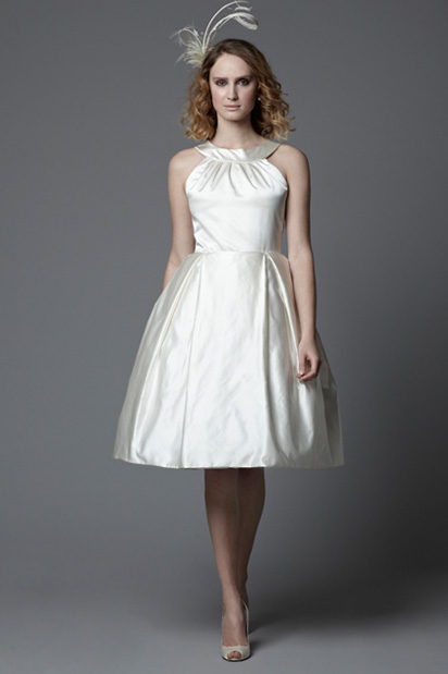short wedding dress vintage style fifties