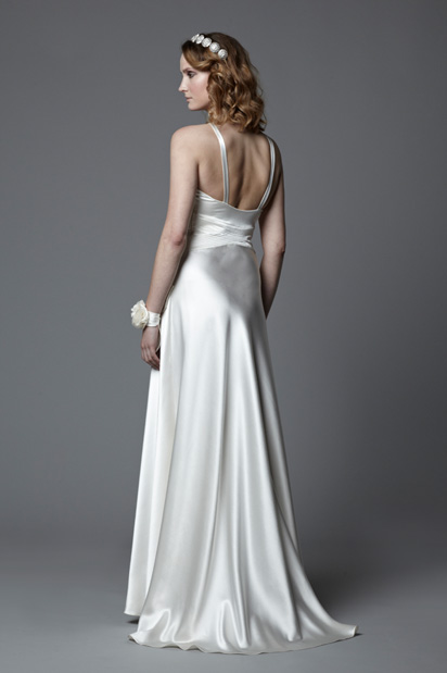 thirties wedding gown Xanthe